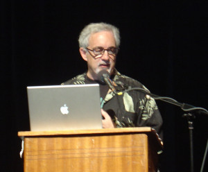 Mitch Kapor presenting