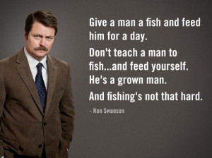 Serial Quotes – Le verità di Ron Swanson