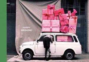 Happy Weekend Tags