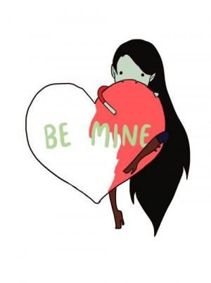 Be Mine Marceline On Adventure Time