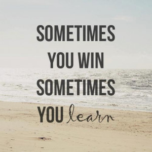 ... from mistakes winning winning habits winning vs losing leave a comment
