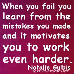... learn from the mistakes picture quotes – Motivational Sport Quotes