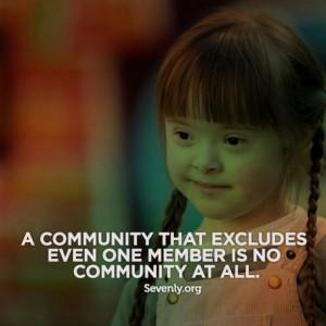 Inclusion in all schools!