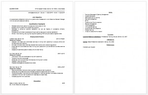 Here is preview of this Free Sample Hostess Resume created using MS ...