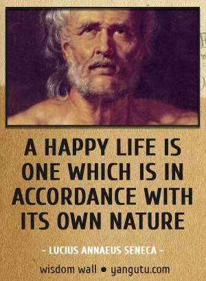 its own nature, ~ Lucius Annaeus Seneca Wisdom Wall Quote #quotations ...