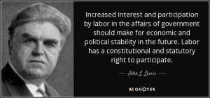 ... political stability in the future. Labor has a constitutional and