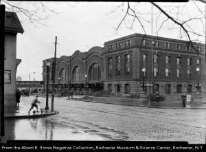Railroad Station Rochester