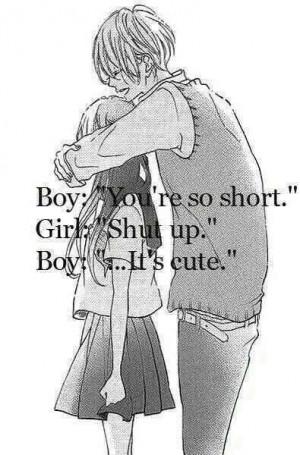 anime, black and white, couples, dibujos, drawing, hug, love, manga ...