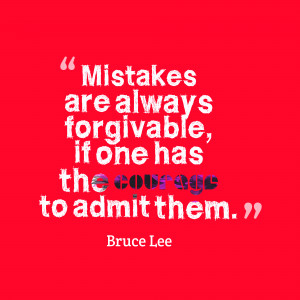 Mistakes And Forgiveness Quotes Mistakes Are Always Forgivable