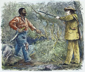 Nat Turner's image (left) is clearly designed to look unkempt and ...