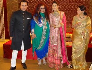 Kareena Kapoor And Saif Ali Khan Wedding Receptions