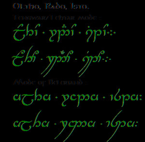 Lord Of The Rings Elvish Quotes Quenya quote to respect