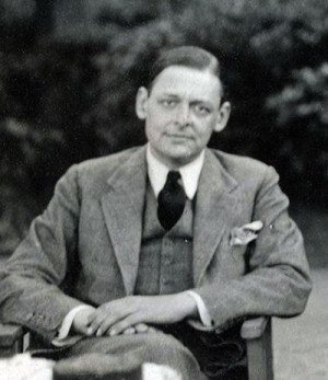 , playwright, prose writer, social critic and poet, T.S. Eliot ...