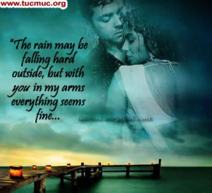 Romantic Rain Quotes. QuotesGram