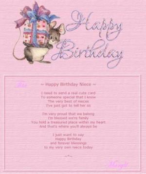 All Graphics » happy birthday niece