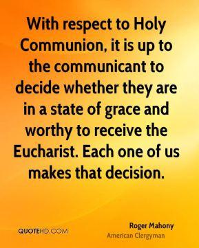Eucharist Quotes