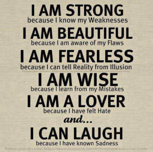 my mistakes i am a lover because i have felt hate and i can laugh ...