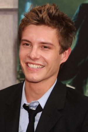 Xavier Samuel (Riley) attended the Sorcerer's Apprentice premiere ...