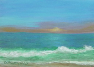 beach art paintings