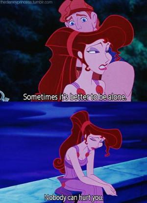 MickeyMeCrazy Disney Hercules Meg quote