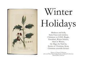 Winter Holidays exhibit now open