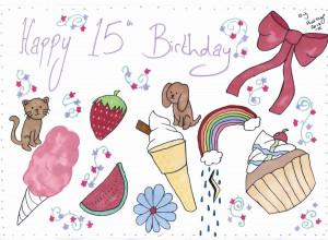 ... birthday sherry happy 15th birthday daughter a really happy birthday
