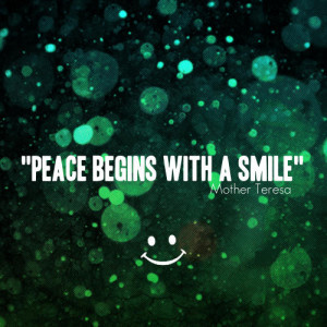 Mother Teresa Quote – Smile View Image / Read Post