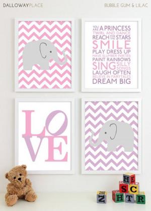 ... Girls Wall Art Room Decor Nursery Quotes Inspirational Playroom Rules