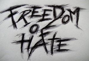 black and white, freedom, hate, notebook, quotes, write