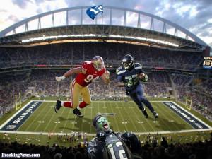 Funny Seattle Seahawks vs the San Francisco 49ers