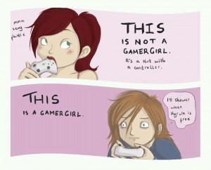 Gamer Girls' are terrible.