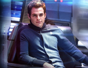 Star Trek: (New) Enterprise captain portrayed by Chris Pine.