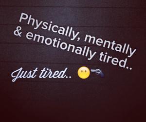 tired #sad #physically #mentally #emotionally #girl