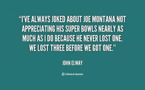 Joe Montana Quotes