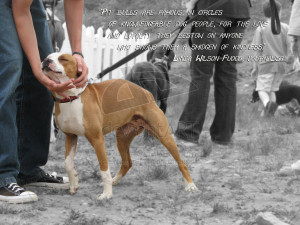 Pit Bulls are famous for... by solefield