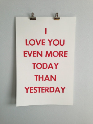 Cute Funny I Love You More Than Quotes : Cute I Love You More Than Quotes. QuotesGram