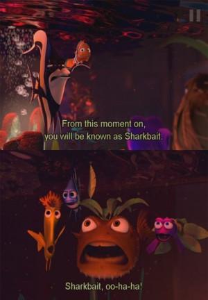 Finding Nemo- movie quote