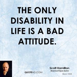 Scott Hamilton Life Quotes
