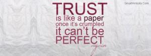 Trust Like a Paper