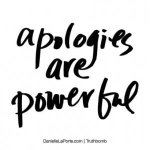 ... might take time, heartfelt #apologies can truly help a situation