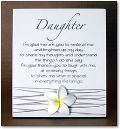 Special Poems for Daughters | Poem Daughter More