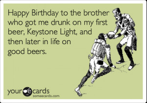 happy birthday little brother someecards