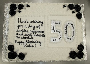 50th Birthday Cake Ideas | 50th Birthday Cake Sayings