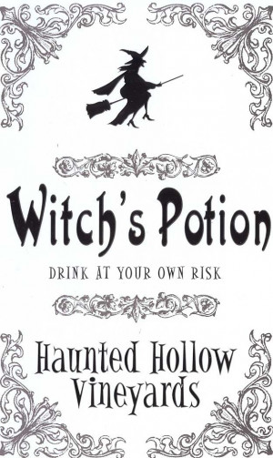 Halloween Printables Fonts, Halloween Potion, Witches Potion, Potion ...