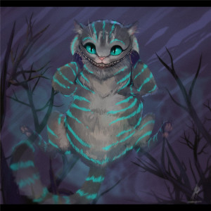 Cheshire Cat Quotes Tim Burton Cheshire cat by vagab0nda