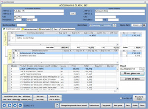 MS Access CRM Template- Advanced Version with image manager