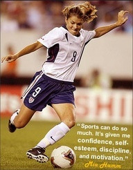 soccer sayings and quotes - Mia Hamm