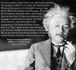 Albert Einstein – I'm not an atheist