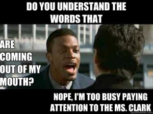 Rush Hour - Chris Tucker quote - do you understand the words that are ...