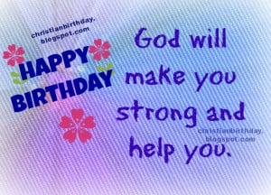 Christian Card Happy Birthday to you, free image, christian free ...